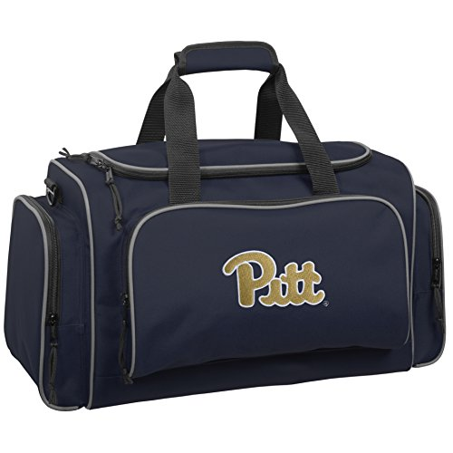 wallybags-pittsburgh-panthers-21-inch-collegiate-duffel-navy-one-size