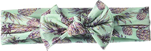 Baby Bling Baby Girl's Printed Knot (Infant/Toddler) Pineapple Paradise One Size (Paradise Sweet Pineapple)