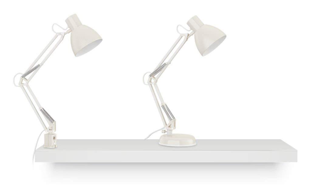 Zhang Zhang Zhang Yan ZYY American Style LED-Lampe Studenten Lernen, Augenschutz zu betreiben Dual-Lampe-Nachttischlampe Nordic Kreativität (Farbe  Weiß) B07QD586CW   Vorzüglich  3bb131