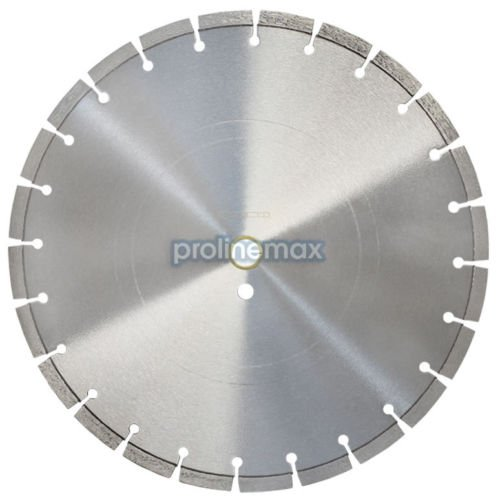 14'' x .125'' Segmented Diamond Saw Blade General Purpose 20mm Arbor 5,400 RPM