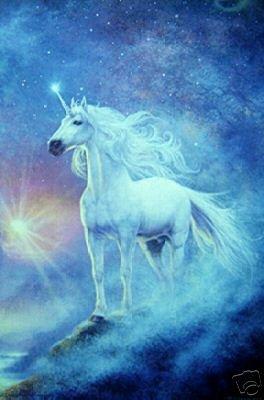 Unicorn Fantasy - New Poster -Rare Astral Print