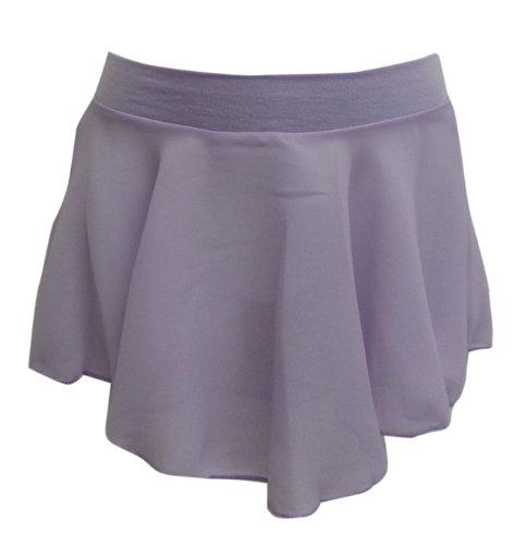 Basic Moves Little Girls Georgette Ballet Skirt Pull-on skirt Lavender