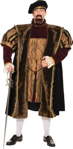 (Men'S Costume: Henry Viii- Medium - Product Description - An Elegant Costume Perfect For The Man Whose Title Just Happens To Be King! Hat, Coat And Tunic. Adult Men'S Medium)