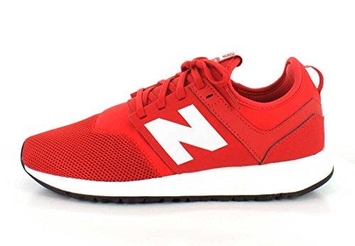 New Balance - Zapatillas de Material Sintético para hombre rojo rojo y blanco