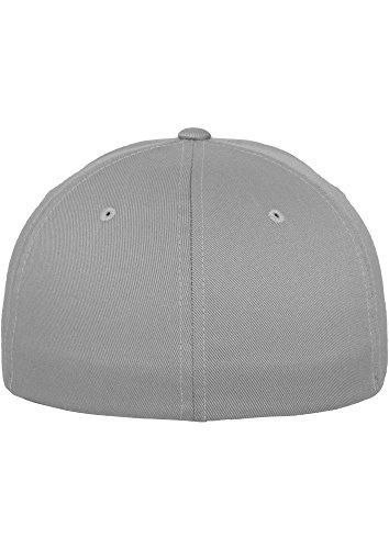 FLEXFIT Cap De Baseball en différents Couleur - argent, L/XL -à 62 cm