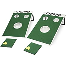 Chippo - Golf Meets Cornhole! The Revolutionary New Golf Game for The Beach, Backyard, Tailgate, Clubhouse, Office and Man cave!