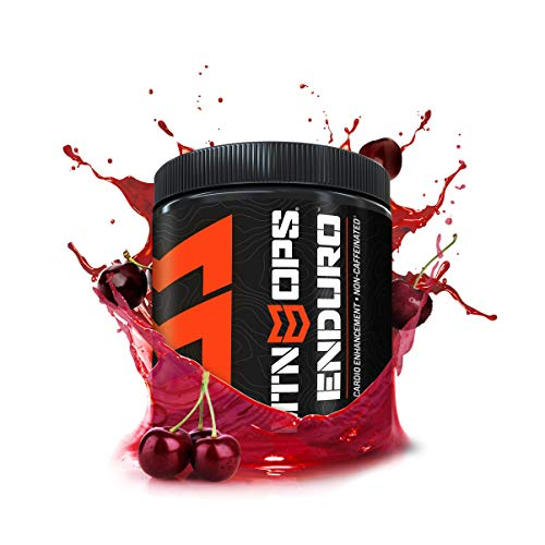 (MTN OPS Enduro Cardio Energy Enhancement Supplement, Nitric Oxide Boost (No Crash), Black Cherry Flavor, 30 Servings Per Container)