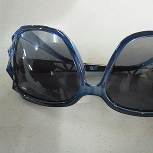 HONEY Women's Polarized Sonnenbrille - Diamond-Mounted großen Spiegelrahmen UV-Schutz - lassen Konturen des Gesichts schöner ( Farbe : Cherry blossom powder ) 0jS4zIDncQ