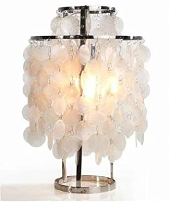 Verpan Fun Mother Of Pearl Table Lamp