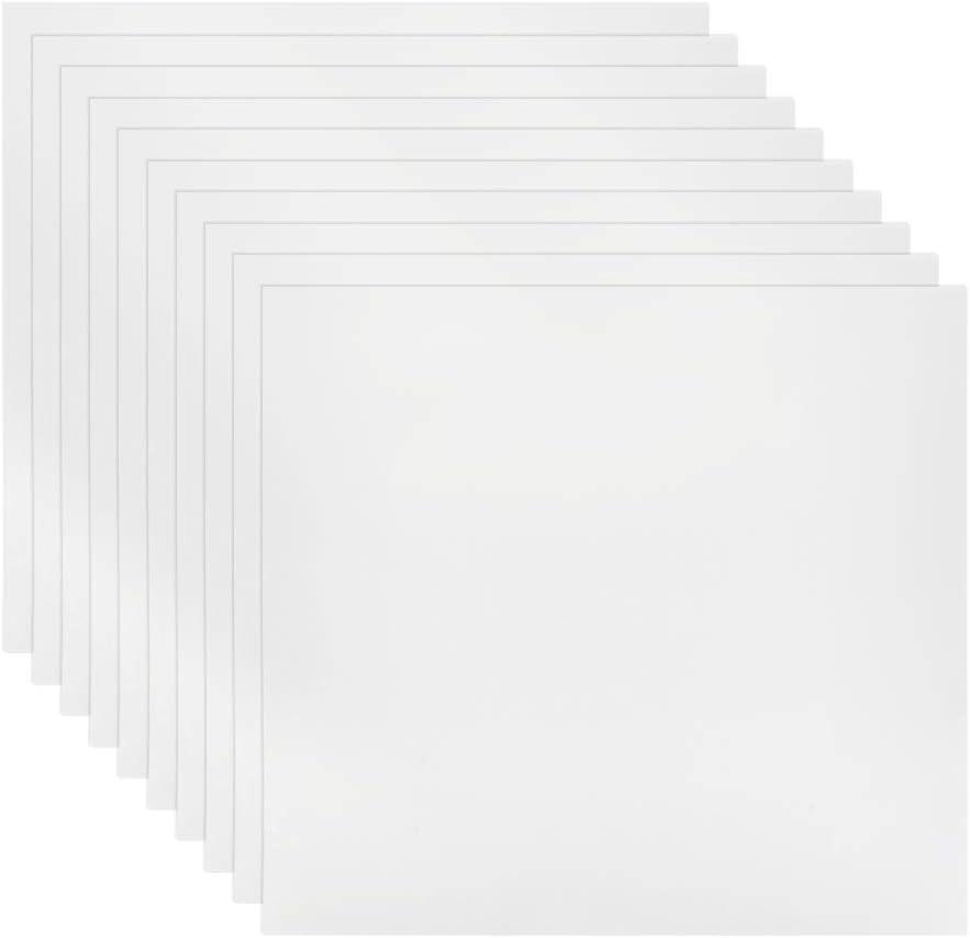 BUYGOO 30Pcs 4 Mil Clear Mylar Stencil Sheets, 12