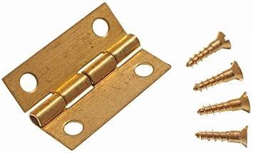 4PCS Mini Scharniere Vintage Schmuckschatulle Holz Boxspring Hardware dekorativ
