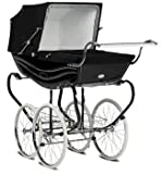 Silver Cross Balmoral Pram - Black