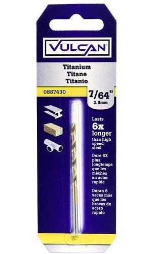 VULCAN 218491OR Bit Drill Titanium