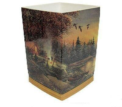 Solitude By Terry - Terry Redlin Evening Solitude Waste Paper Basket