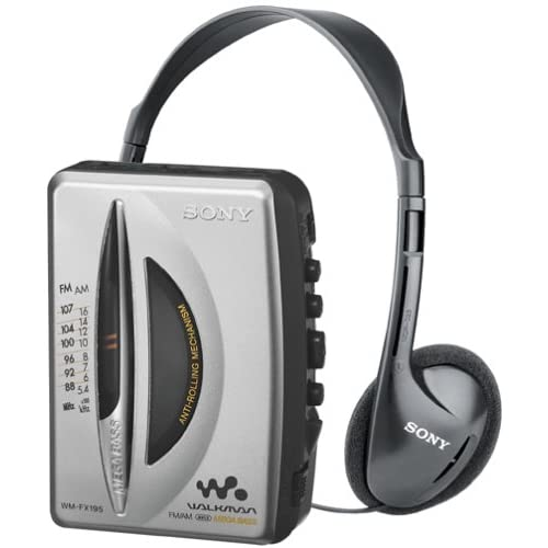 Image of Cassette Players & Recorders Sony WM-FX195 Walkman AM / FM Stereo Cassette Player with Auto Shut-Off