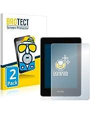 BROTECT 2x Antireflecterende Beschermfolie compatibel met Amazon Kindle Paperwhite 2018 (10. Generatie) Anti-Glare Screen Protector, Mat