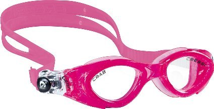 Cressi Crab, pink/pink, clear lens