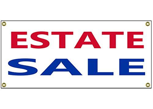 Estate Sale Banner Retail Store Home Shop Business Sign 36
