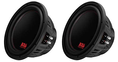 Boss Audio 12-Inch 2600-Watt Dual Voice Coil Subwoofer (2 Pack)
