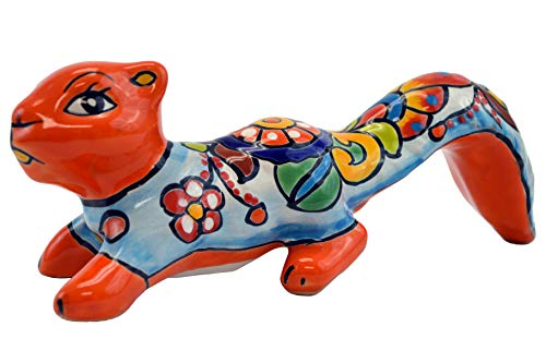 Avera Products Talavera Squirrel 11″ Hand Painted Ceramic Garden Decor (Orange) Review