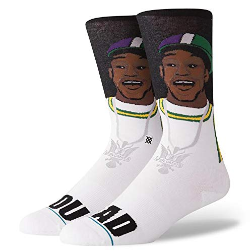 Stance Cam' Ron You Mad Socks BLACK/WHITE (L)