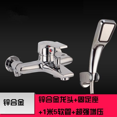 Alloy B Lpophy Bathroom Sink Mixer Taps Faucet Bath Waterfall Cold and Hot Water Tap for Washroom Bathroom and Kitchen All-Copper Wall Mounted Triple Hot and Cold A