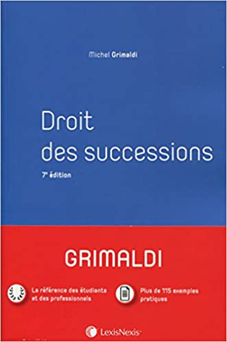 Amazon Fr Droit Civil Successions Manuel Michel Grimaldi