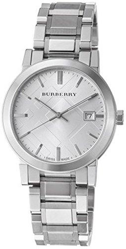 Burberry Men's BU9000 Large Check Stainless Steel Bracelet - Burberry Watch Men