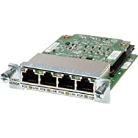 Cisco Ehwic. 4Esg Enhanced High. Speed Wan Interface Card . 4 X 10/100/1000Base. T Wan Product Type: Routing/Switching Devices/Modules