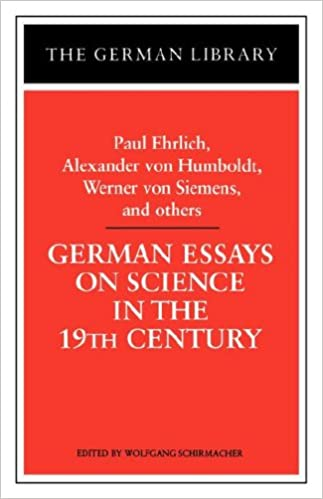 com german essays on science in the th century paul  german essays on science in the 19th century paul ehrlich alexander von humboldt werner von sieme german library first edition edition