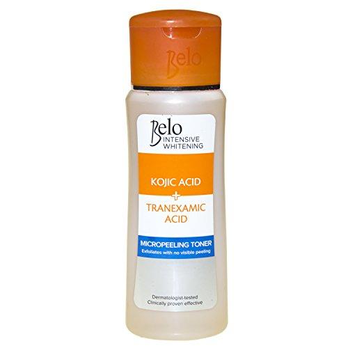 BELO INTENSIVE WHITENING - Intensive Kojic & Tranexamic Acid Whitening Micropeeling Toner - 60 mL