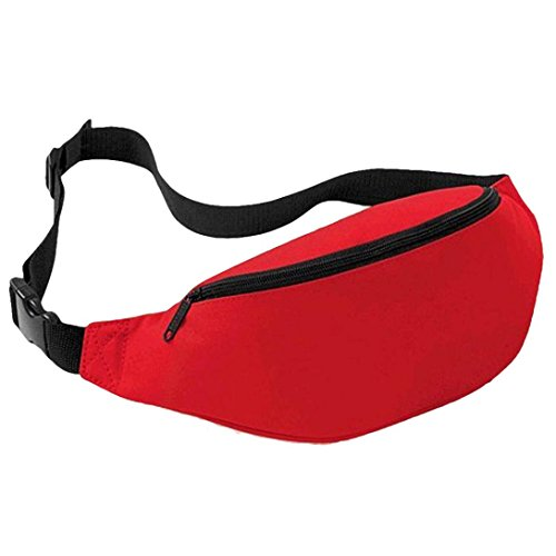 TOPUNDER Unisex Outdoor Sports Running Waist Bag (Red, 34x14x8 - Printable Coupons Friday Black