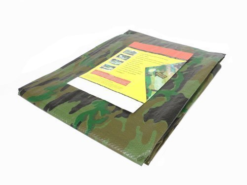 Tarps Tear Resistant Camo Tarp Cover (20' x 20') by ATE Pro. USA by ATE Pro. USA
