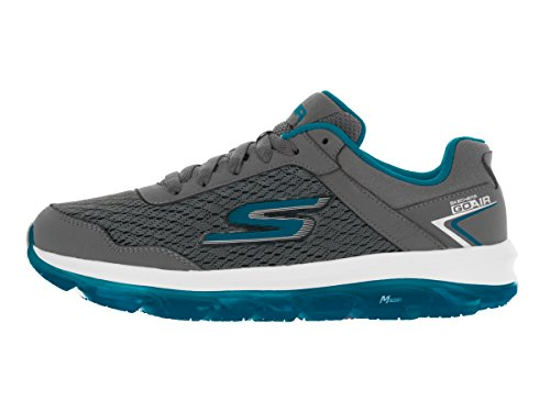 Skechers Ladies Go Air Sneaker Grigio / Blu