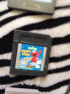 Elmos 123s - Sesame Street: Elmo's 123s (Nintendo Game Boy Color, 1999)