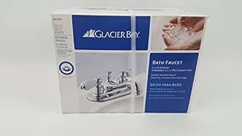Glacier Bay Bathroom Faucet: Bathroom Sink Faucets: Amazon