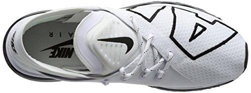 Zapatillas Nike Para Hombre Air Max Flair Running Blanco Negro 101