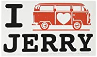 C&D Visionary Jerry Garcia Van Sticker