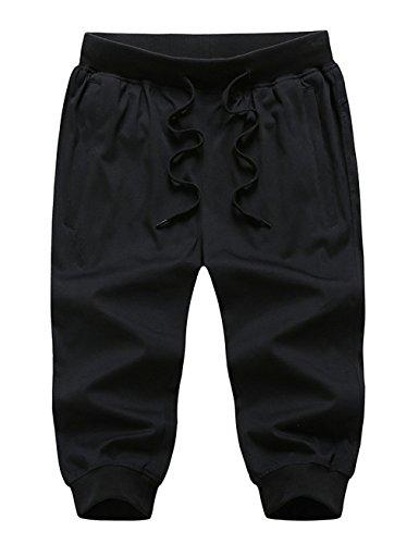 Cropped Capri Sweatpants - 8