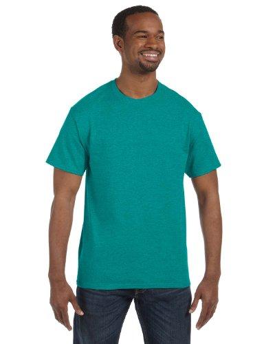 Gildan Heavy Cotton T-Shirt, Antique Jade Dome, Large