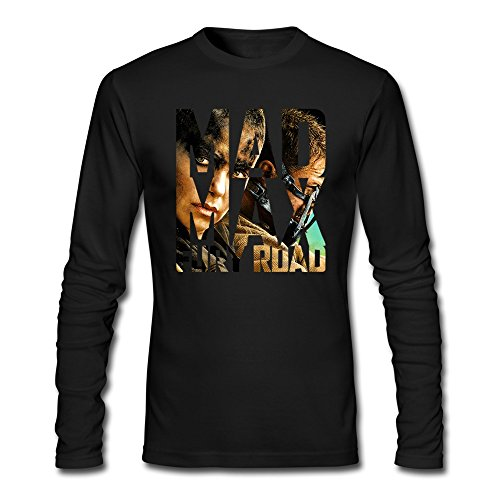 Costumes Max Mad Thunderdome Beyond (Fast Forward Men's Long Sleeve Mad Max Fury Road T-shirts XX-Large)