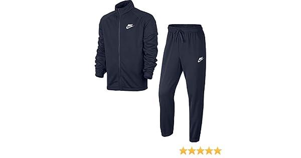 Nike Sportswear Track Suit PK Basic Chándal, Hombre, Azul ...