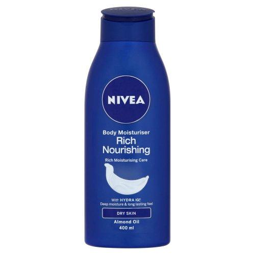 Nivea Rich Nourishing Body Moisturiser 400 ml/13.52 oz