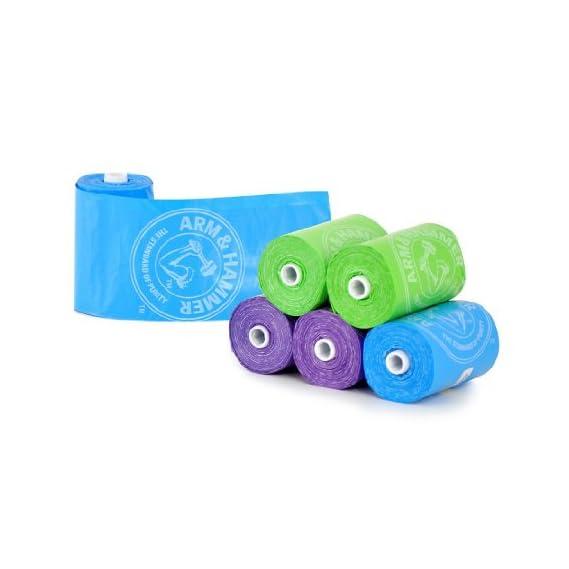 Munchkin Arm & Hammer Diaper Bag Refills, Pack of 2 x 72 Count