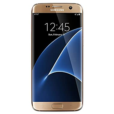 Samsung Galaxy S7 Edge Factory Unlocked Phone 32 GB - International Version G935F- Platinum Gold