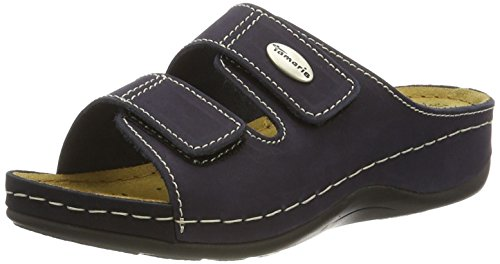 805 navy Mules 27510 Women's Blue Tamaris FwIXzS