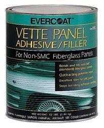 (Evercoat Fibreglass 870 Vette Panel Adhesive/Filler - Quart)