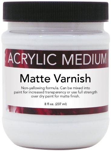 Art Advantage 8-Ounce Acrylic Medium Matte Varnish - Acrylic Varnish