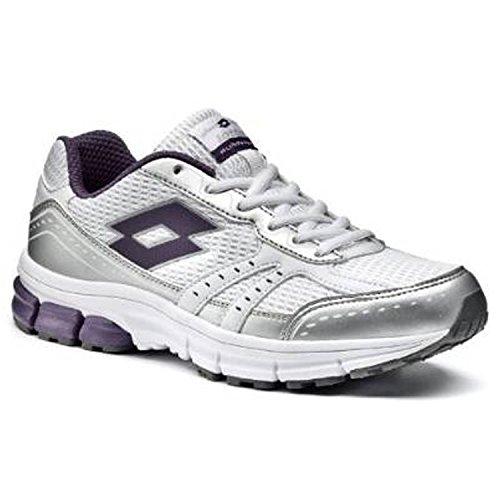 Zapatillas Para Y talla Ii Color Mujer Running Lotto Blanco Zenith Ultravioleta De 5 wqUB6xAOE