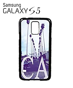 California CA Palm Springs Mobile Cell Phone Case Samsung Galaxy S5 White